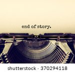 close up image of typewriter... | Shutterstock . vector #370294118
