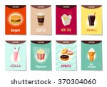 set of ad cards  banners  tags  ... | Shutterstock .eps vector #370304060