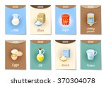 set of ad cards  banners  tags  ... | Shutterstock .eps vector #370304078