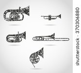 Set Of Brass Instruments For...