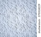 White Embossed Flowers Pattern...