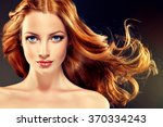 Beautiful Model With Long Curl...
