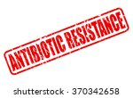antibiotic resistance red stamp ... | Shutterstock .eps vector #370342658