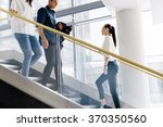Group Of Businessman Walking...