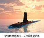 Submarine Against The Evening...