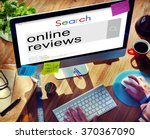 online reviews feedback comment ... | Shutterstock . vector #370367090