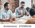 combining their expertise.... | Shutterstock . vector #370389656