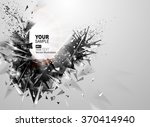 geometric black novel element... | Shutterstock .eps vector #370414940