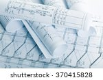 architectural blueprints | Shutterstock . vector #370415828