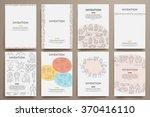 corporate identity vector... | Shutterstock .eps vector #370416110