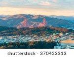 golden gate bridge from twin... | Shutterstock . vector #370423313