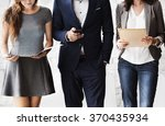 human resources interview...   Shutterstock . vector #370435934