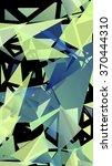 randomly scattered triangles of ... | Shutterstock .eps vector #370444310