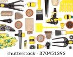 garden equipment and other... | Shutterstock . vector #370451393