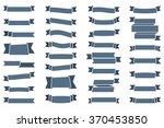 ribbons set  vector eps10... | Shutterstock .eps vector #370453850