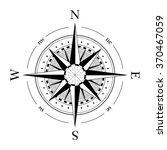 compass navigation dial  ... | Shutterstock .eps vector #370467059
