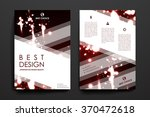 set of brochure  poster design... | Shutterstock .eps vector #370472618