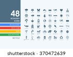set of ecology icons | Shutterstock .eps vector #370472639
