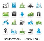 oil industry  gas production ... | Shutterstock .eps vector #370473203