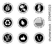 food product badges collection... | Shutterstock .eps vector #370491023