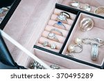 Jewelry Box With White Gold And ...