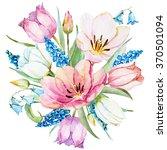 Watercolor Flower Spring...