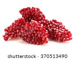 ripe pomegranate fruit segment... | Shutterstock . vector #370513490