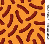 sausage background | Shutterstock .eps vector #370518908