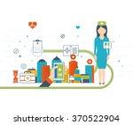 vector illustration concept for ... | Shutterstock .eps vector #370522904