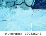 blue tone wall background | Shutterstock . vector #370526243