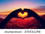 valentine's day concept ... | Shutterstock . vector #370531298