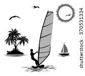 set of elements symbolizing... | Shutterstock .eps vector #370531334