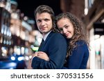 beautiful young couple | Shutterstock . vector #370531556