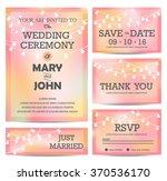 Pink Wedding Invitation  Rsvp ...