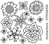 Coloring  Book With Flower...