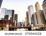 chicago skyline | Shutterstock . vector #370544228