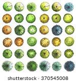 hand drawn marker trees  top...   Shutterstock . vector #370545008