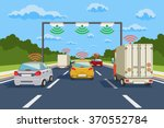 highway communication system... | Shutterstock .eps vector #370552784