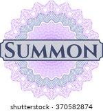 summon money style rosette | Shutterstock .eps vector #370582874