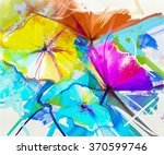 Abstract Oil Painting Colorful...