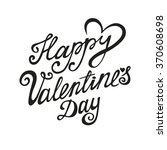valentines day card.vector... | Shutterstock .eps vector #370608698