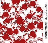 beautiful floral print design...   Shutterstock .eps vector #370612820