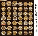 quality golden retro vintage... | Shutterstock .eps vector #370628759