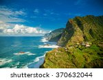 amazing view of mountains and... | Shutterstock . vector #370632044