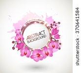 floral vector background... | Shutterstock .eps vector #370641584