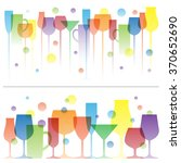 abstract colorful illustration... | Shutterstock .eps vector #370652690