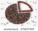 large and diverse group of...   Shutterstock . vector #370657409