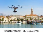 professional drone take photo... | Shutterstock . vector #370662398