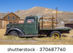 Rusty Old Truck In Bodie State...