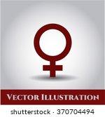 female icon   Shutterstock .eps vector #370704494
